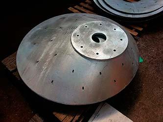 Fábrica de peças industriais