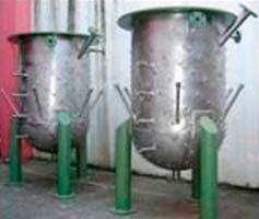 Fábrica de tanques metálicos