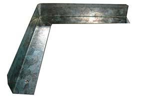 Peças estampadas em metal