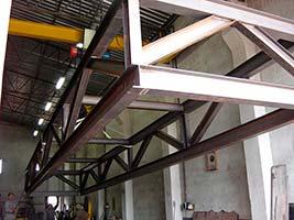 Plataformas metálicas industriais