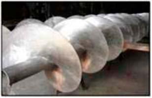 Rosca transportadora helicoidal